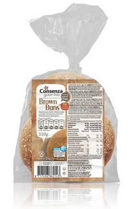 Consenza petit pain brun 320g (4x80g) surgelé