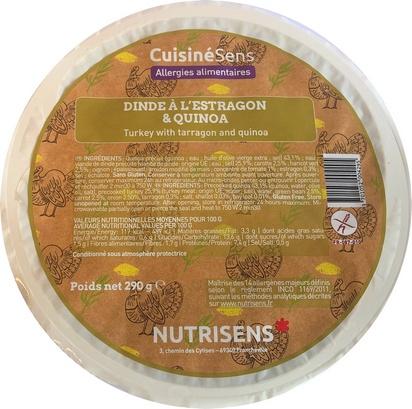 NS dinde à l'estragon et quinoa 290g x 10 all°(14)