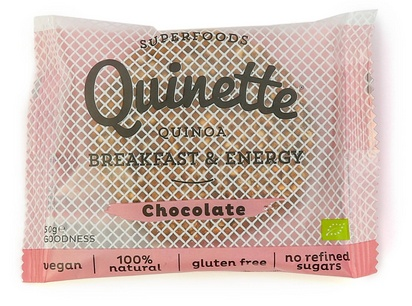 Quinette biscuit petit déjeuner chocolat bio 50g
