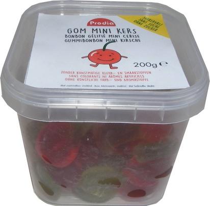 Prodia gommes mini-cerises 200g