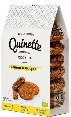Quinette biscuits gingembre citron vert bio 100g