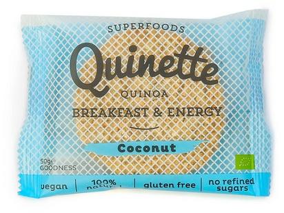 Quinette biscuit petit déjeuner noix  coco bio 50g