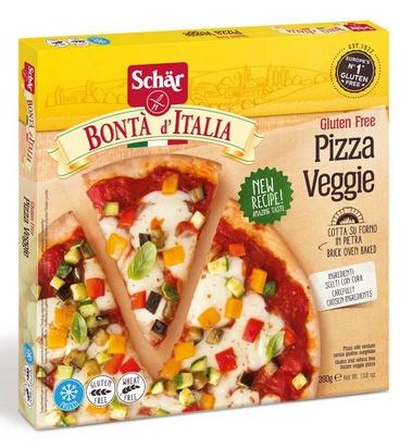 Schär Bonta d'Italia Pizza Veggie 390g surgelé
