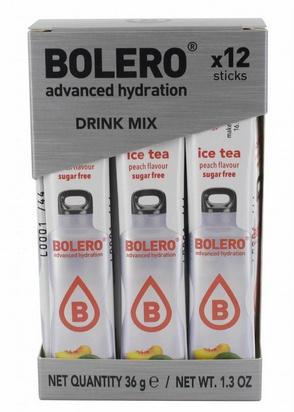 Bolero boisson aromatisée Ice tea pêche 3g x 12