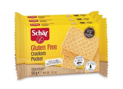Schär crackers pocket 50g x 3