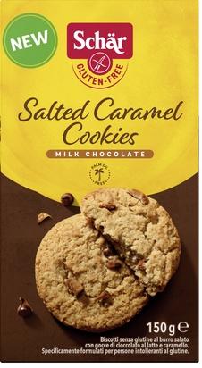 Schär salted caramel cookies 150g