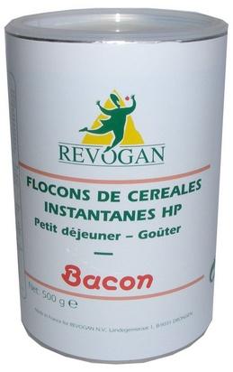 Revogan flocons de céréales inst. bacon HP 500g