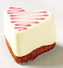 Revogan hart mousse chocolade-passievrucht 70g x10