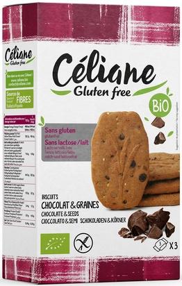 Céliane biscuits petit déjeuner bio 4px3 150g