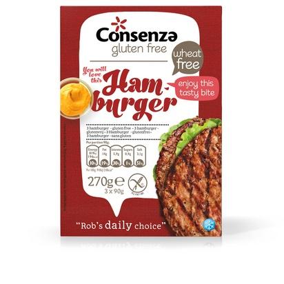 Consenza hamburger 3pcs 270g surgelé