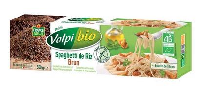 Valpi bio spaghetti riz brun 500g sans gluten