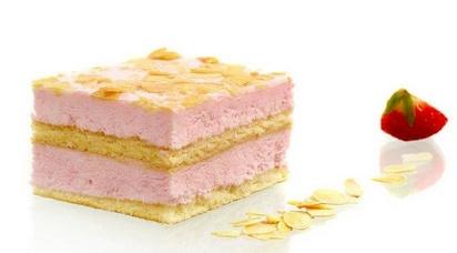 Prodia gâteau aux fraises-fromage 66g x 28 surg