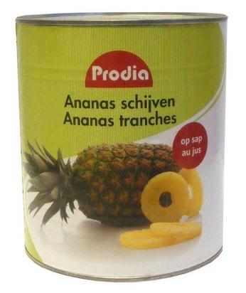 Prodia ananas en tranches 3l