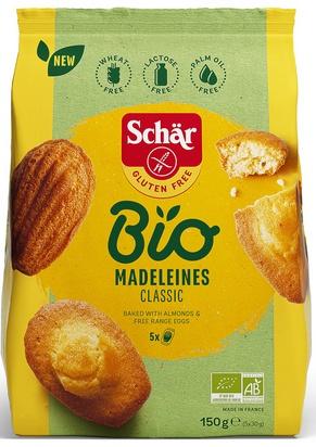 Schär bio madeleines classic 150g (5x30g)
