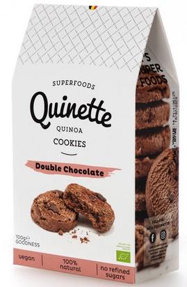 Quinette biscuits double chocolat bio 100 g