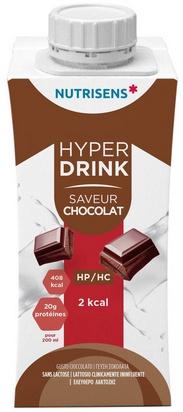 NS hyperdrink 2Kcal saveur chocolat 200ml x 24