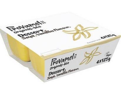 Provamel dessert vanille bio 125g x 4