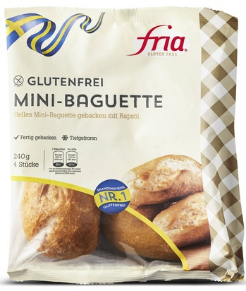 Fria mini baguette 4pcs 240g surgelé