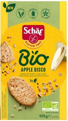 Schär bio apple bisco 105g (3x35g)