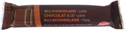 Prodia bar chocolat au lait avec praliné 35g x 20