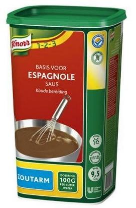 Knorr sauce espagnole basse teneur sodium 0,950kg
