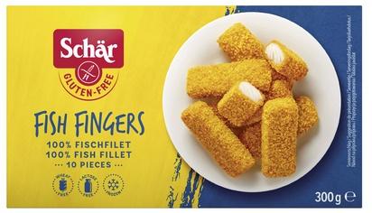 Schar Fish fingers 300g surgelé