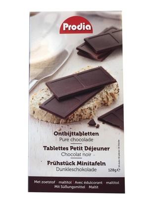 Prodia tablettes petit déjeuner choc noir 8g x 16