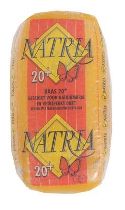 Natria pâte pressée 20% sans sel (2,5kg) 1kg