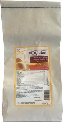 Nogluten mélange panifiable+fibres  1kg
