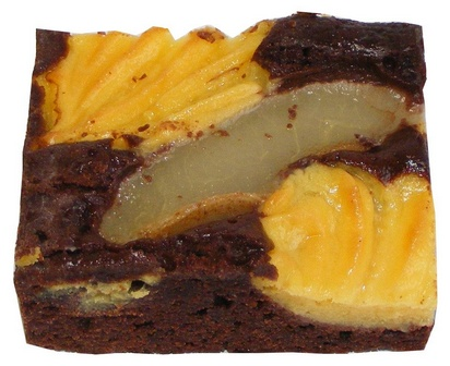 Prodia brownie au poire 60g x 56 surgelé