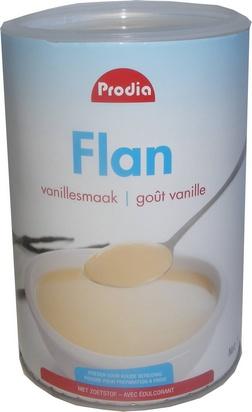 Prodia flan vanille 750g édulcorant