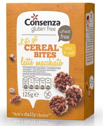 Consenza cereal bites latte macchiato 125g