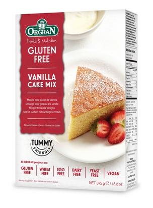 Orgran mix pour cake à la vanille 375g