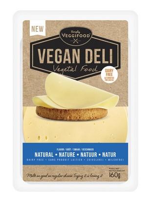 Vegan Deli goût fromage nature 160g