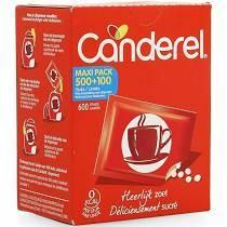 Canderel 500comprimés + 100 gratuit