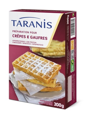 Taranis mix crêpes et gaufres 300g
