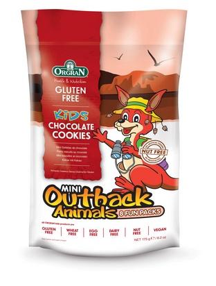 Orgran mini biscuits au chocolat animaux 21,5gx8