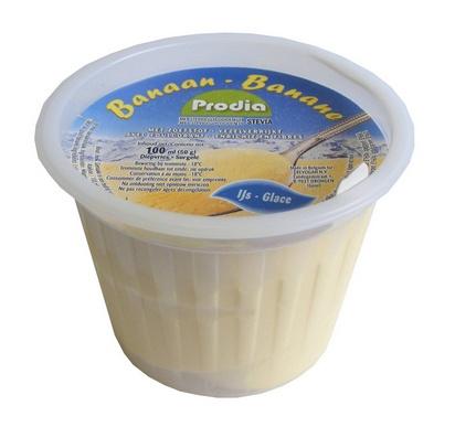Prodia glace à la banane 100ml x 24 surgelé