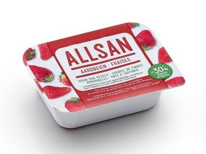 Allsan pâte à tartiner fraise 25g x 100