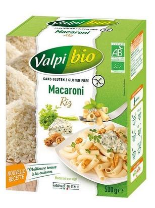 Valpi bio macaroni riz 500g