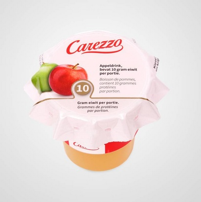 Carezzo boisson de pommes HP 150ml surgelé