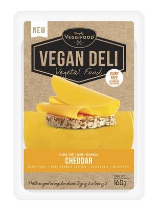 Vegan Deli goût cheddar 160g