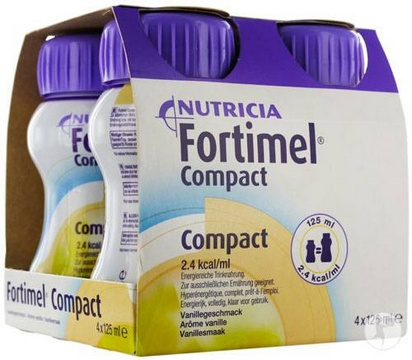 Fortimel Compact vanille 125ml x 24