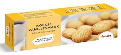 Prodia biscuits à la vanille 125g édulcorant
