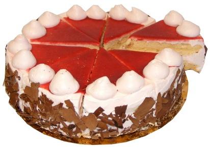 Prodia tarte progrès fraise 530g(8p) surgelé