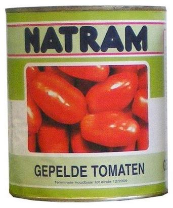 Natram tomates pelées 850ml