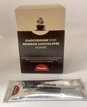 Prodia boisson chocolatée instantanée 11g x 10