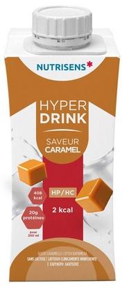 NS hyperdrink 2Kcal saveur caramel 200ml x 24