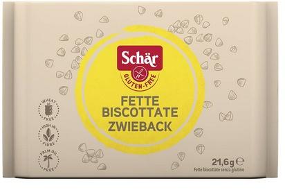 Schär zwieback biscotte 21,6g