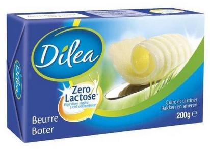 Dilea zero lactose beurre 200g